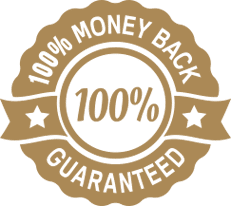 100% money back guarantee for an undergraduate course online