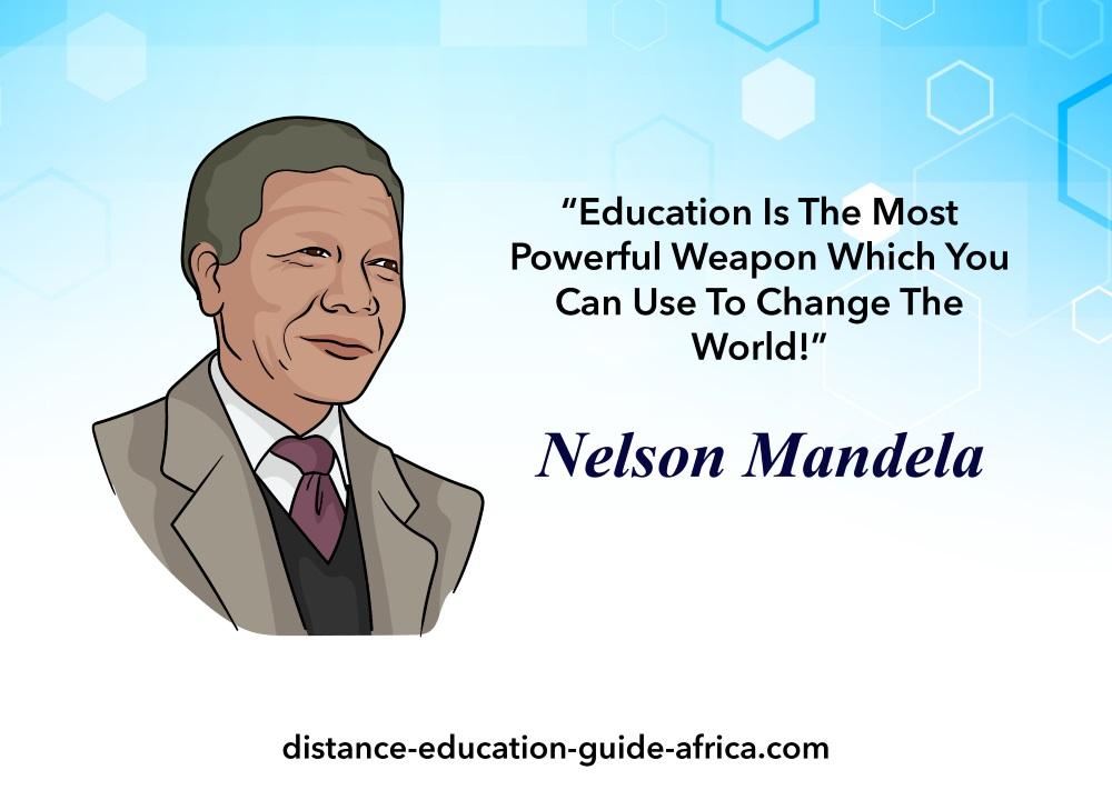 Nelson Mandela education elearning
