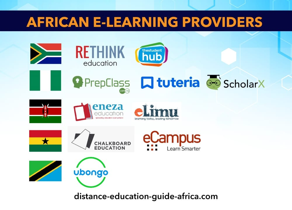 African e-learning providers