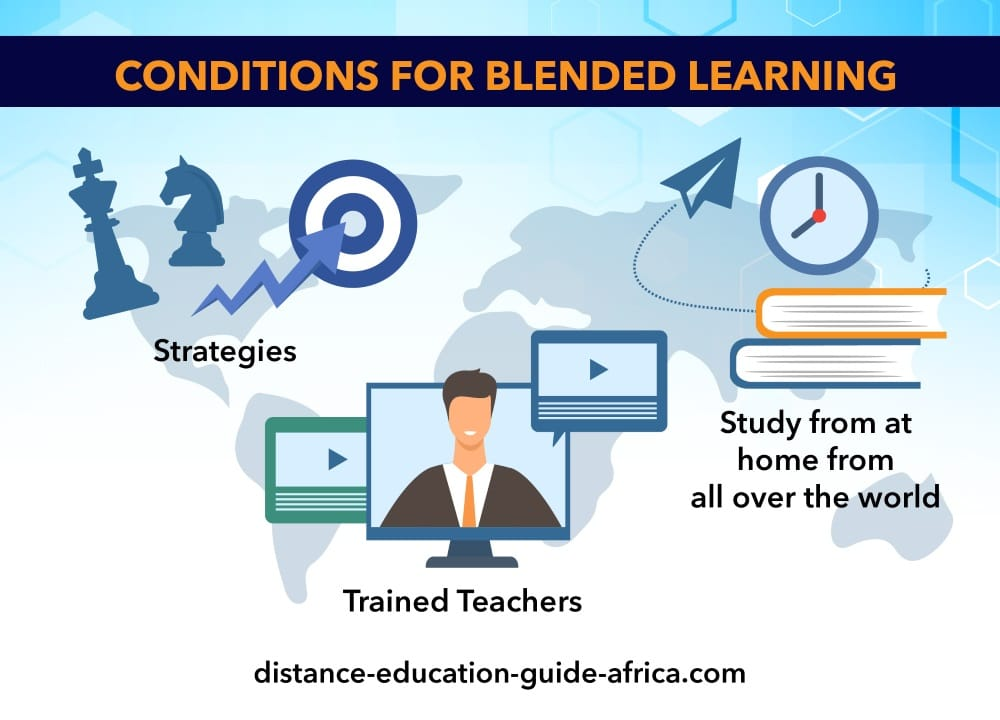 conditions for blended learning in Africa